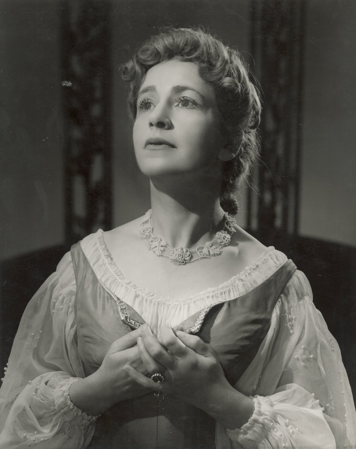 The Merchant of Venice_ 1953_ Peggy Ashcroft as Portia_1953_Photo by Angus McBean _c_ RSC_135851