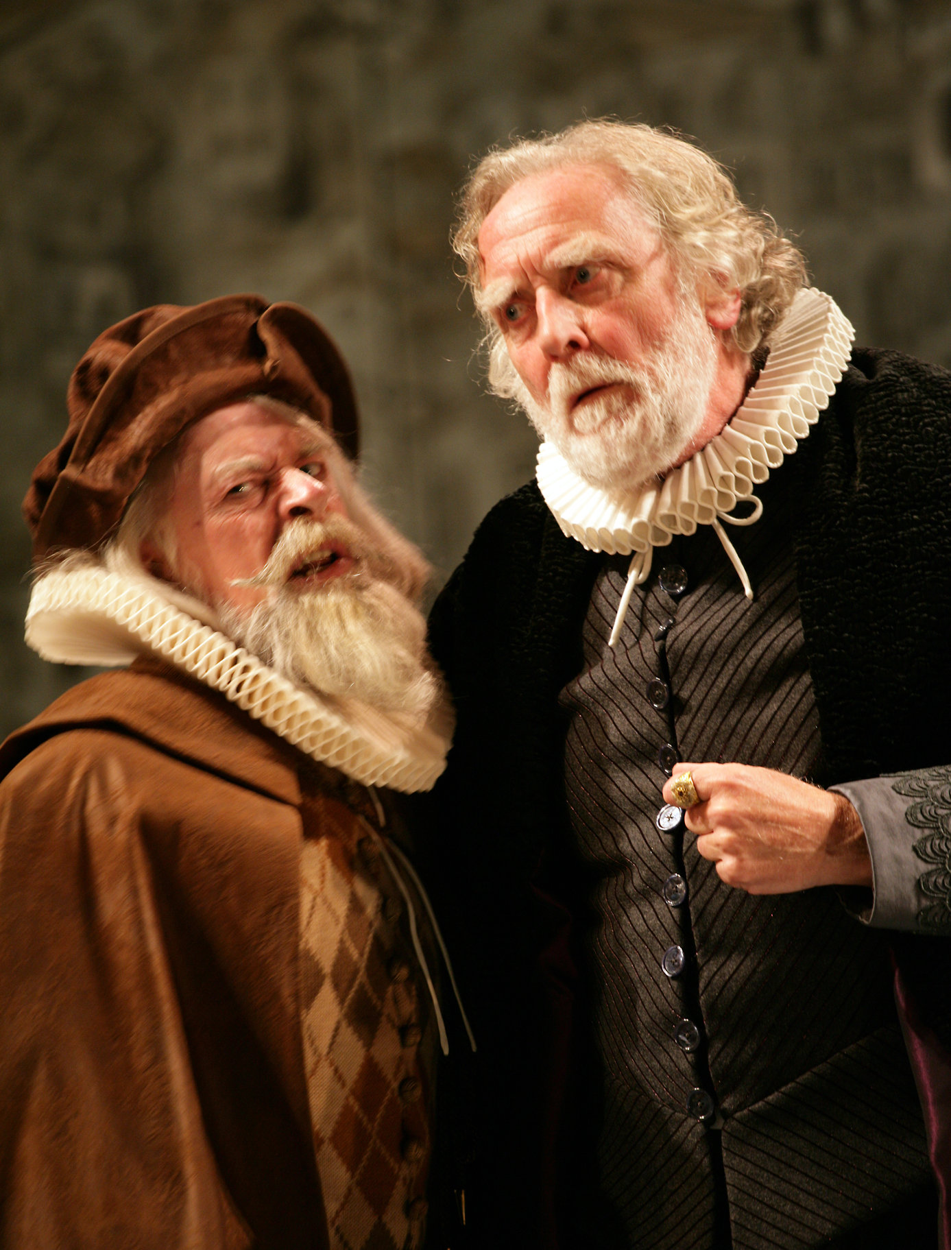 Baptista in the 2008 production of The Taming of The Shrew
