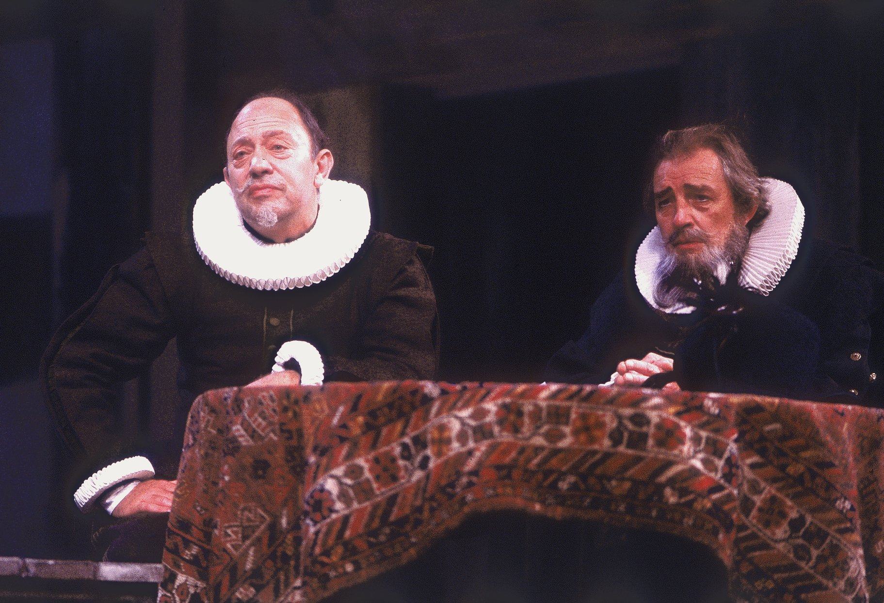 Baptista and Gremio in the 1988 production of The Taming of The Shrew