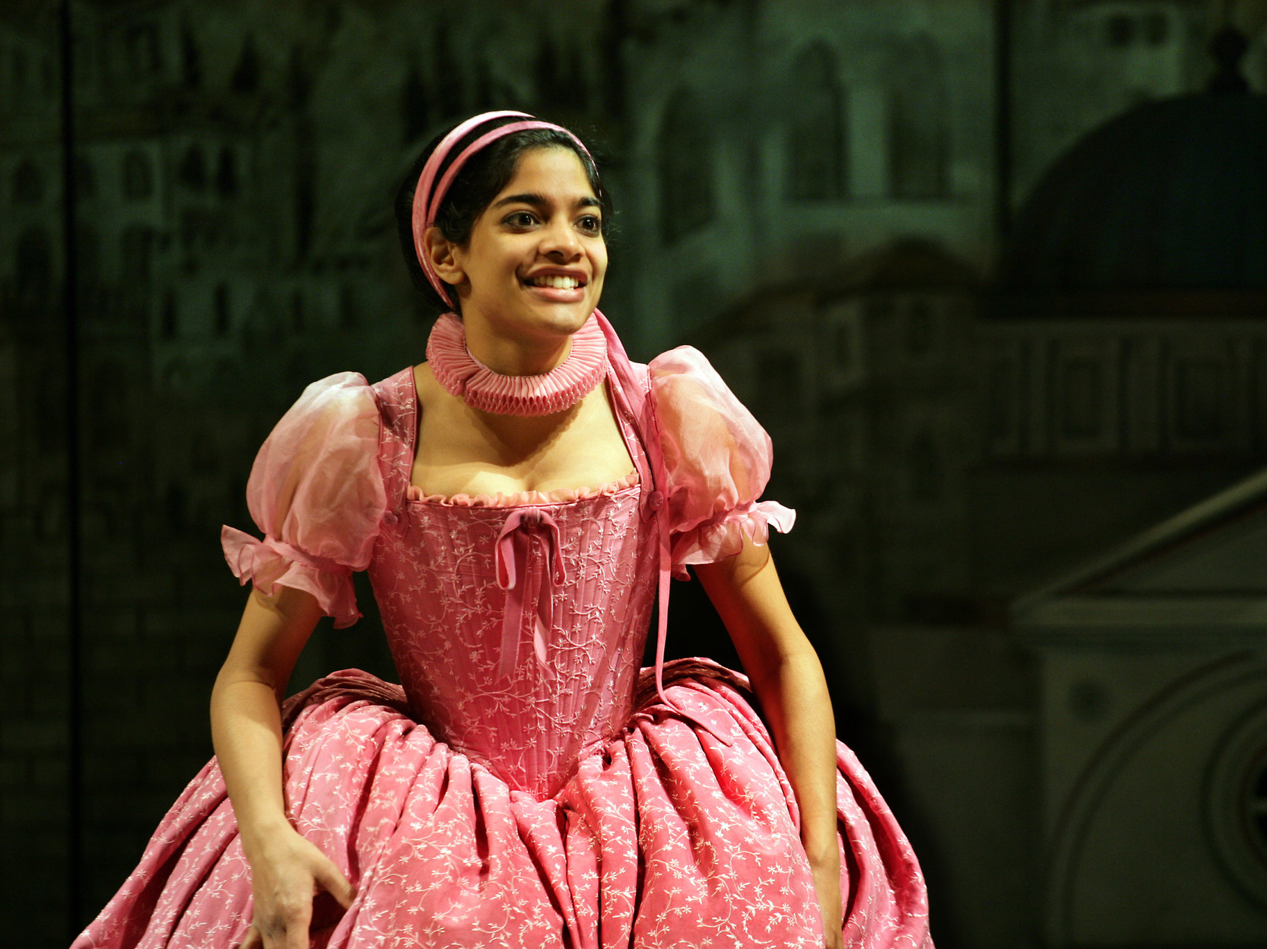 Bianca in the 2008 production of The Taming of The Shrew