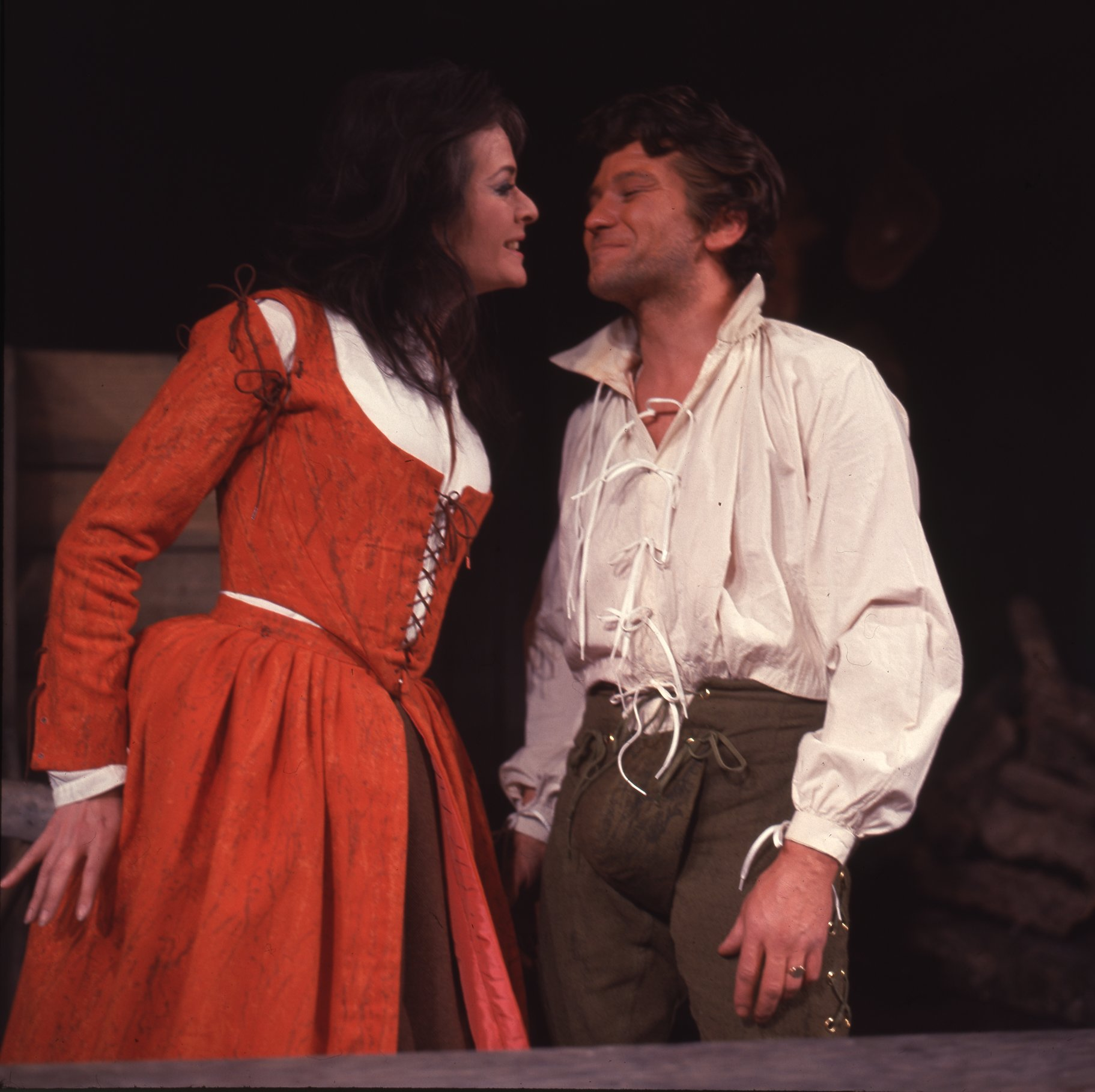 The Taming of the Shrew_ 1967_ Katherina and Petruchio_1967_Photo by Reg Wilson _c_ RSC_263149