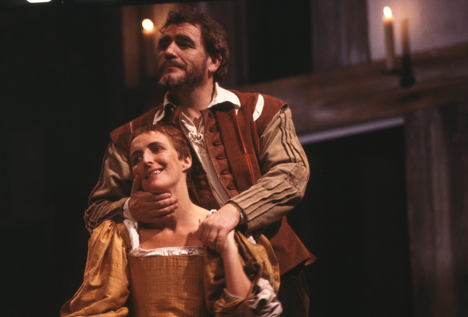 The Taming of the Shrew_ 1988_ Katherina and Petruchio_1988_Photo by Reg Wilson _c_ RSC_206694