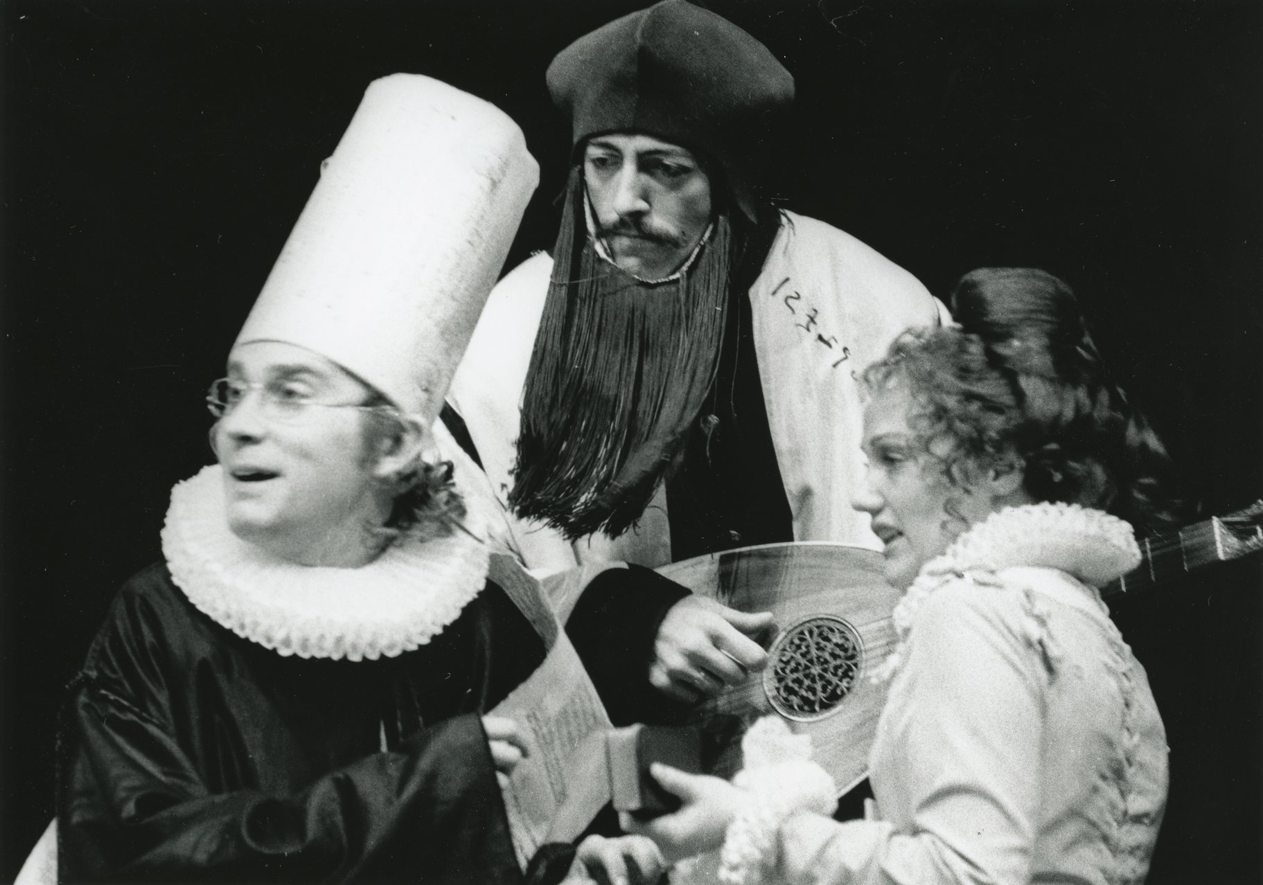 The Taming of the Shrew_ 1973_ Lucentio_ Hortensio and Bianca_1973_Photo by Reg Wilson _c_ RSC_275456