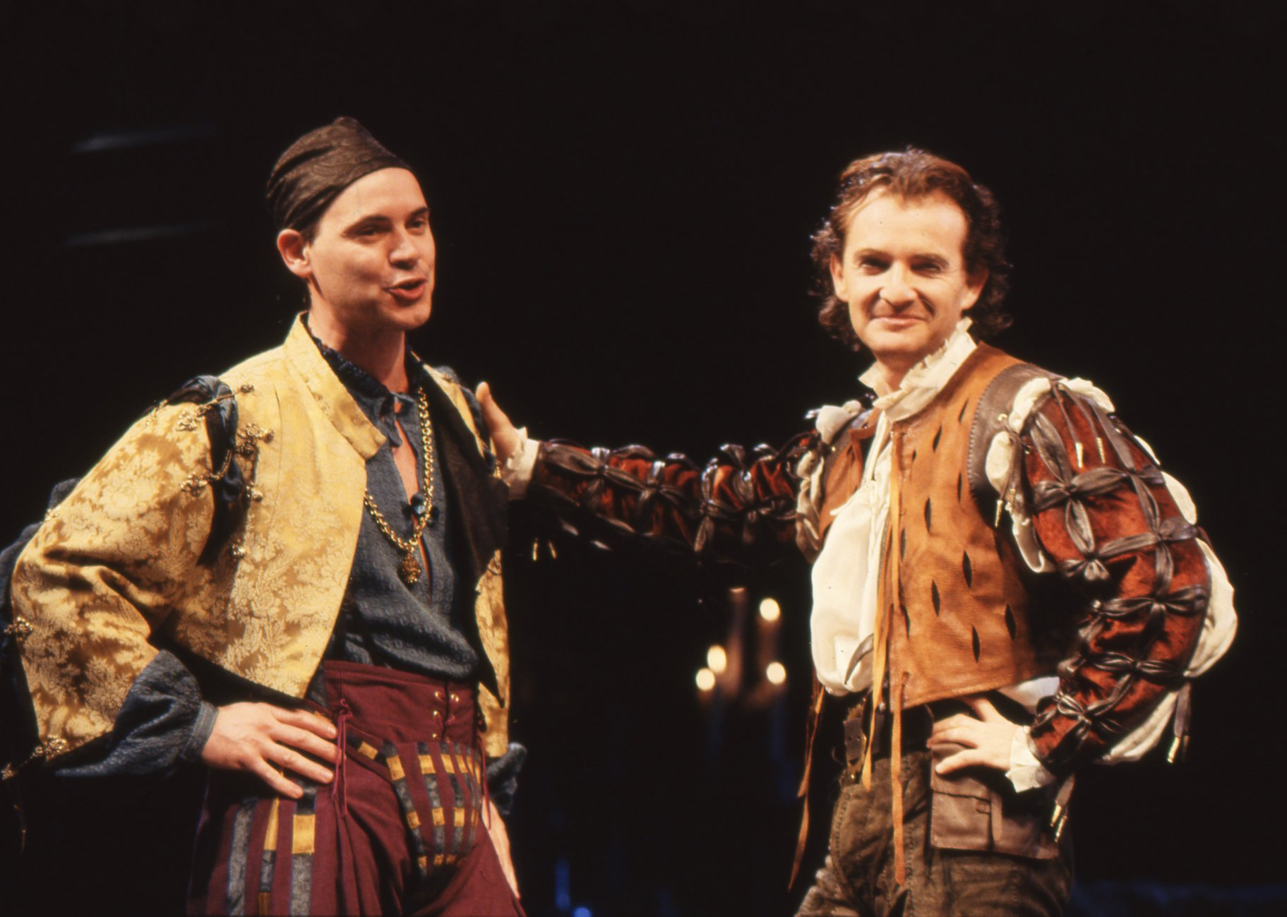 The Taming of the Shrew_ 1992_ Hortensio and Petruchio_1992_Photo by Reg Wilson _c_ RSC_275470