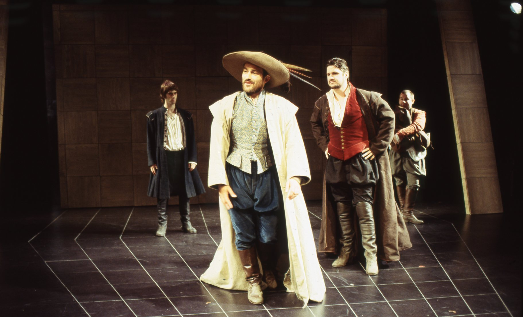 The Taming of the Shrew_ 1999_ Tranio and Petruchio_1999_Photo by Robert Workman _c_ RSC_277088