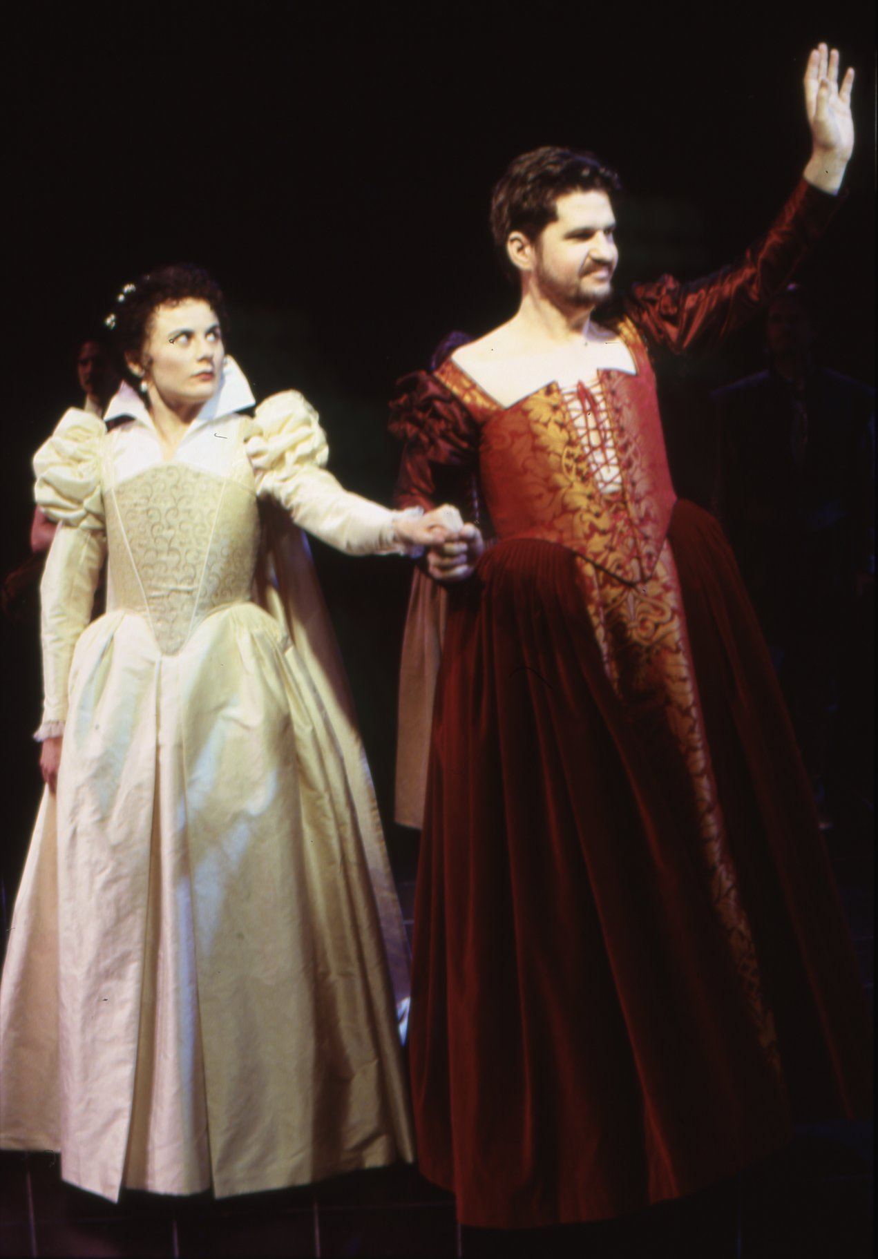 The Taming of the Shrew_ 1999_ Katherina and Petruchio are married_1999_Photo by Robert Workman _c_ RSC_103307