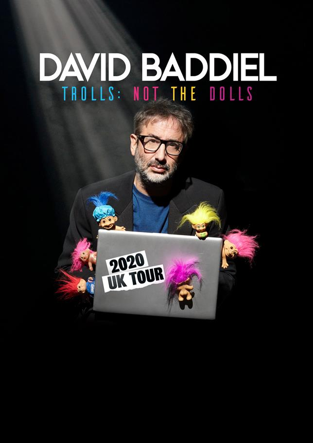David Baddiel brings a new one man comedy show to the RSC