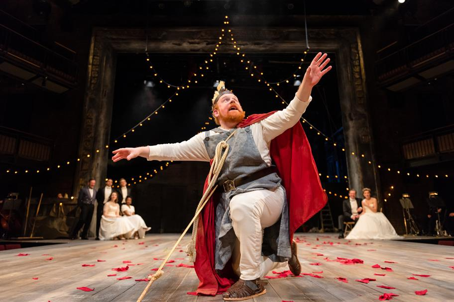 An amateur actor takes centre stage at the Royal Shakespeare Theatre.