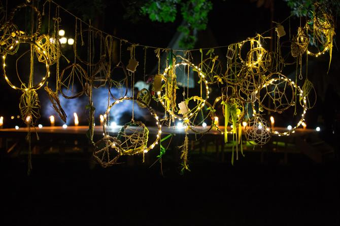 Dream catchers at the Fairy Portal Camp.