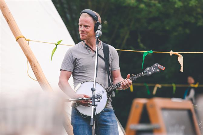 Benji Kirkpatrick at the Fairy Portal Camp.