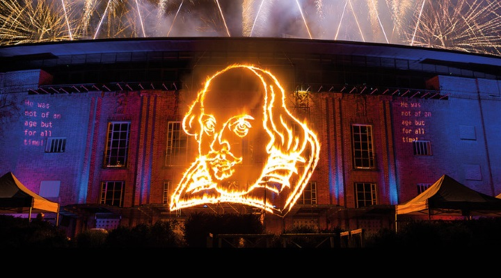 Fireworks_ Shakespeare_s Head. Marketing image for 400th anniversary and Shakespeare Live_ From the RSC_2016_Photo by Lucy Barriball _c_ RSC_181999.720x400