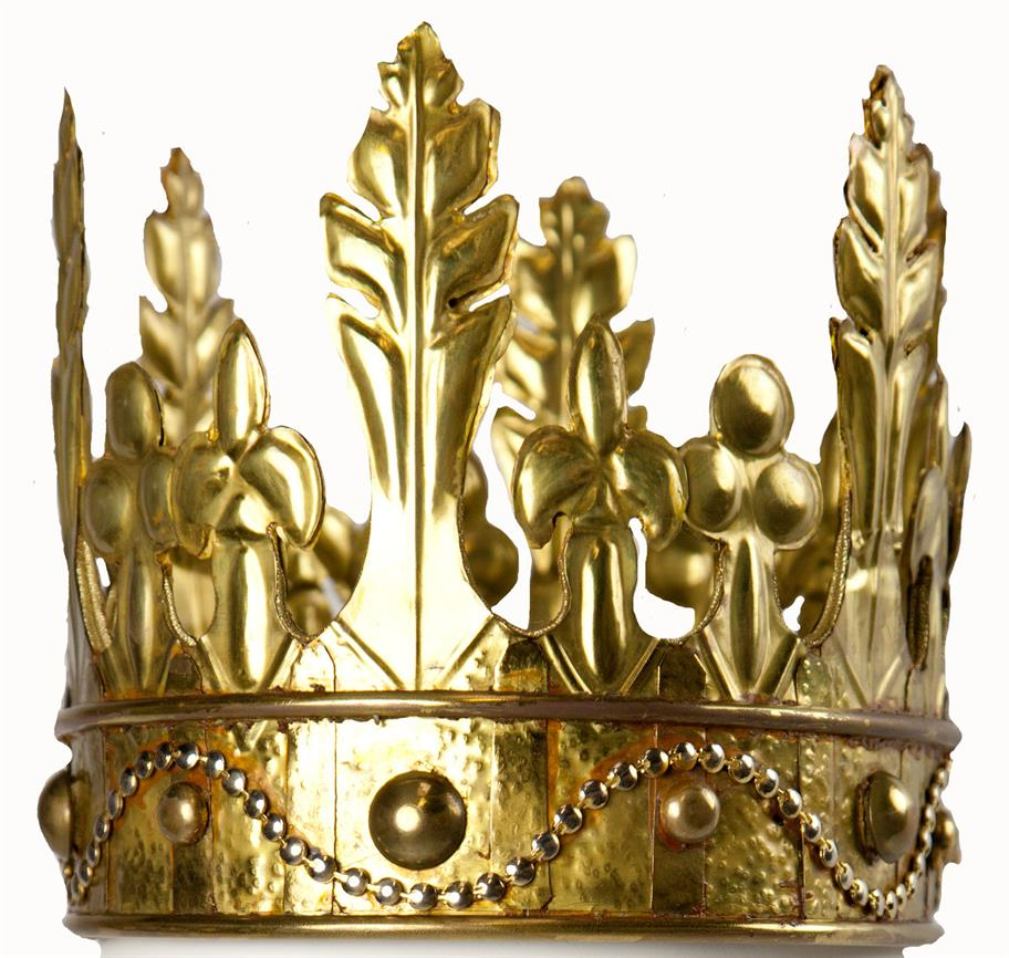 a golden crown