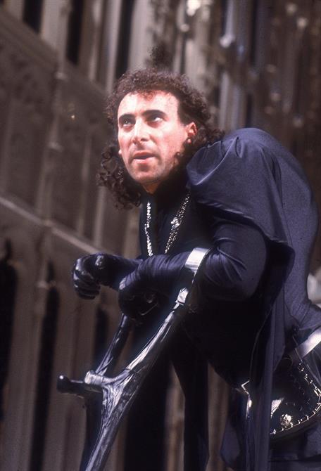 Richard III, 1984, directed by Bill Alexander. Antony Sher as Richard III.