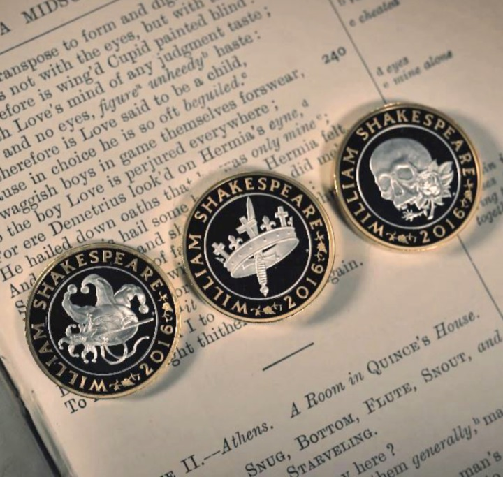 Royal Mint releases Shakespeare coins