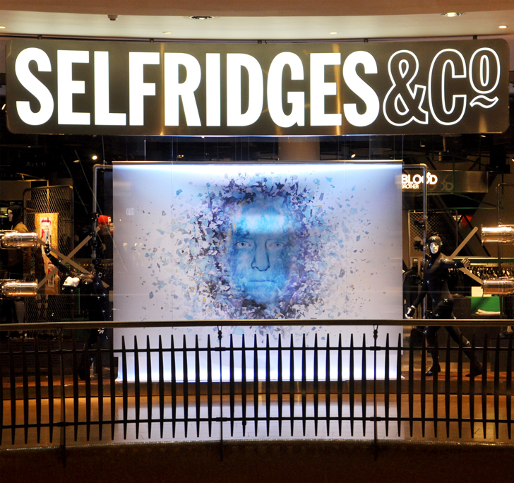 The Tempest in Selfridges