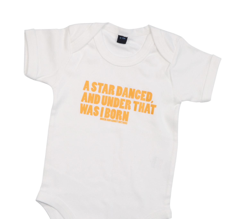 Celebrity Babies in RSC Babygrows