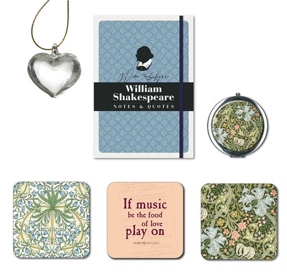 A collection of gifts from the RSC shop