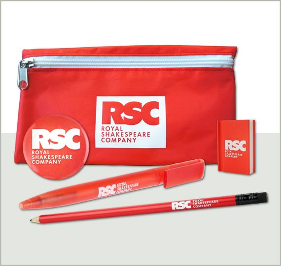 RSC logo stationery set