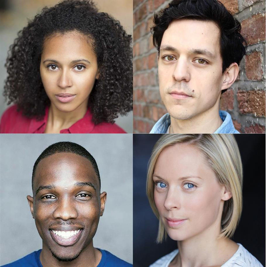 Four of the actors from our 2019 summer season of Shakespeare.