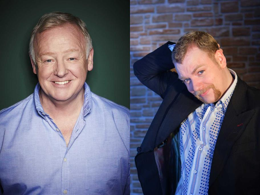 Les Dennis and Rufus Hound