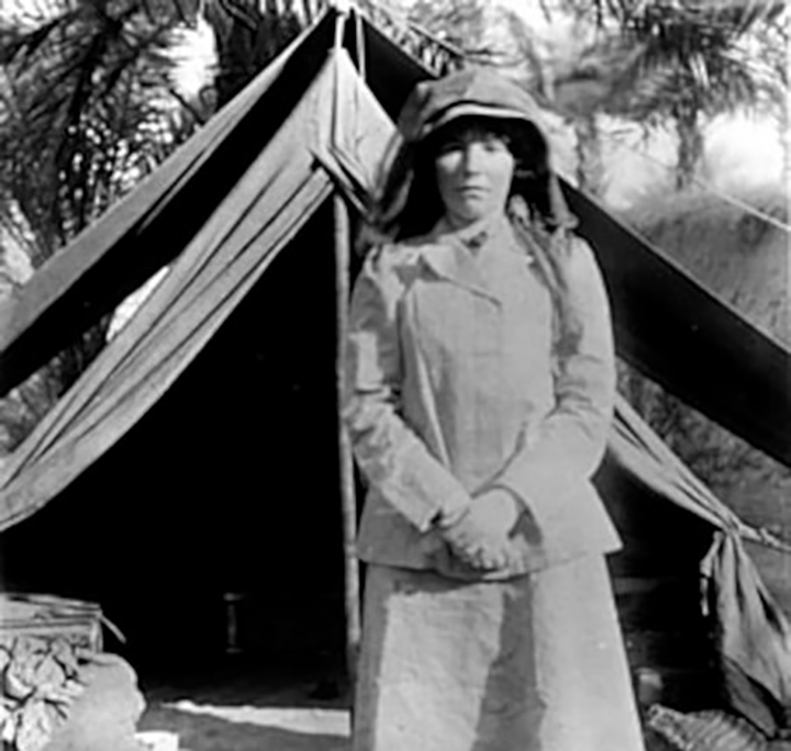 Who was Gertrude Bell?