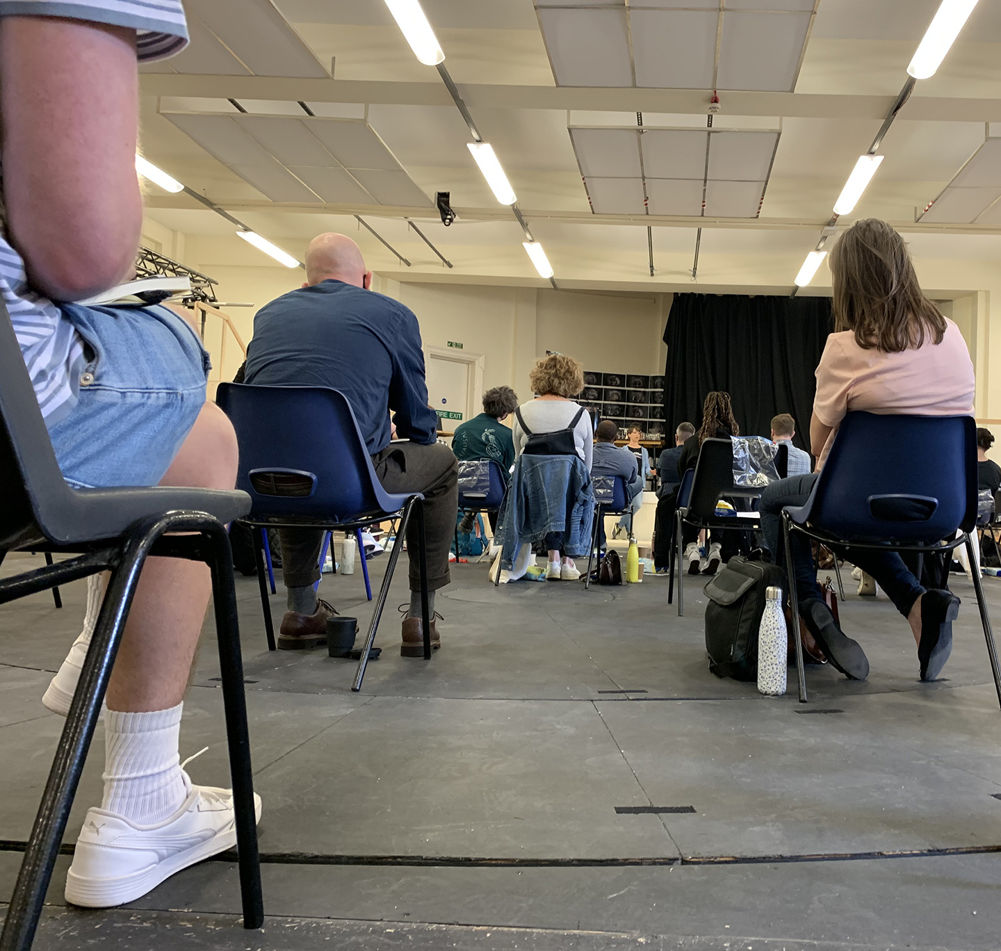The first week of rehearsals