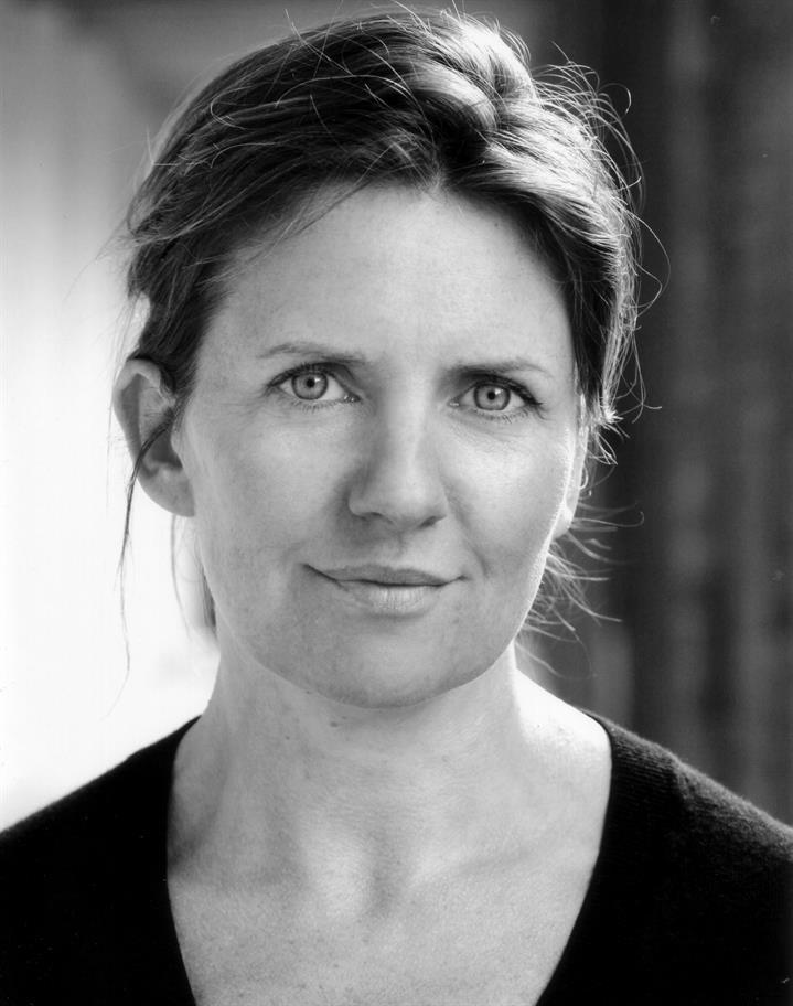 black and white headshot of Clare Burt