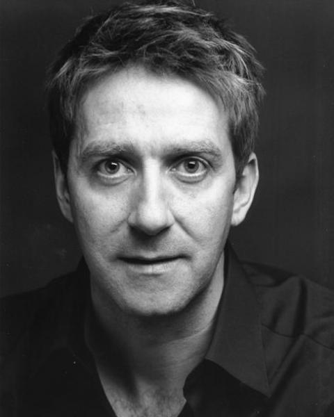 David Birrell black and white headshot