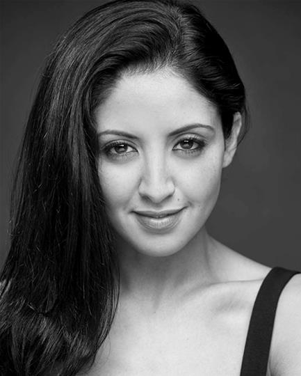 Houda Echouafni black and white headshot