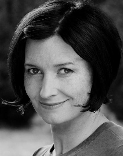 Black and white headshot of Katherine Toy