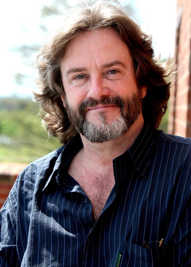 Gregory Doran pinstripe shirt