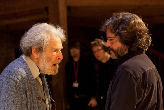 John Barton (RSC Director) with Gregory Doran (RSC Artistic Director).