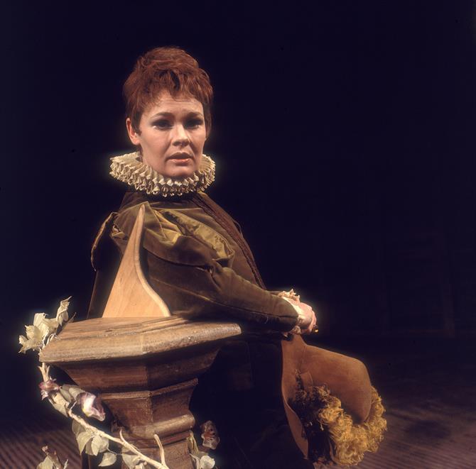 Twelfth Night, 1969, directed by John Barton: Judi Dench as Viola.