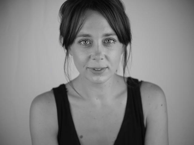 headshot of Kimberley Sykes looking to camera