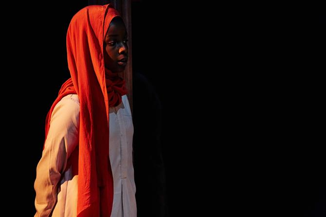 Donna Banya as Amna in Always Orange