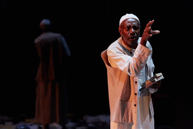 Tyrone Huggins as Farouk in Always Orange