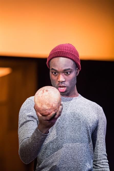Paapa Essiedu as Hamlet in Hamlet