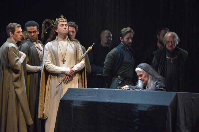 The cast of Richard II.