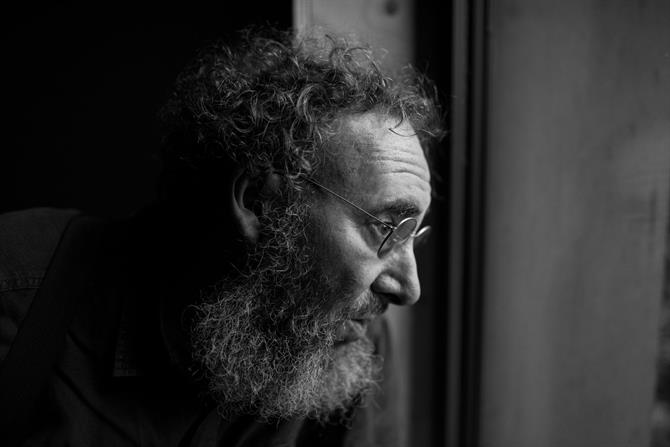 Antony Sher in rehearsal for King Lear