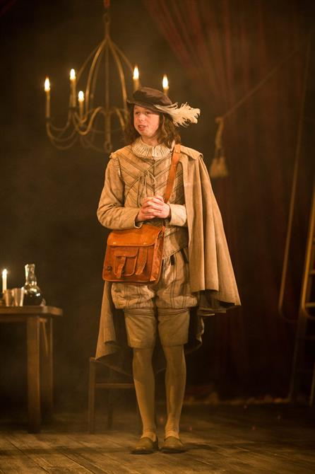 Richard Leeming as Abel Drugger in The Alchemist