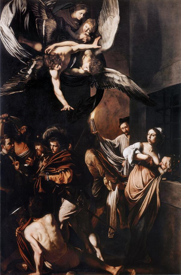 Caravaggio's painting, the Seven Acts of Mercy