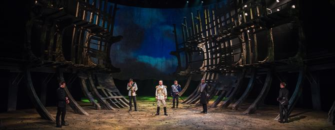 The Tempest production photos_ 2017_ Barbican Theatre_2017_Photo by Topher McGrillis _c_ RSC_222761
