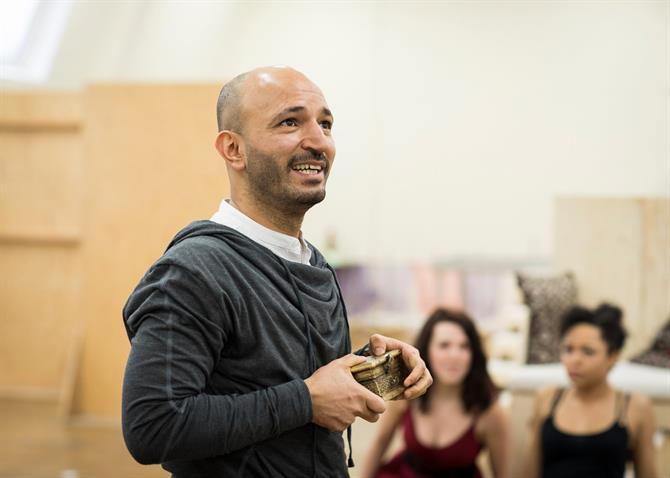 Waleed Elgadi holding a box