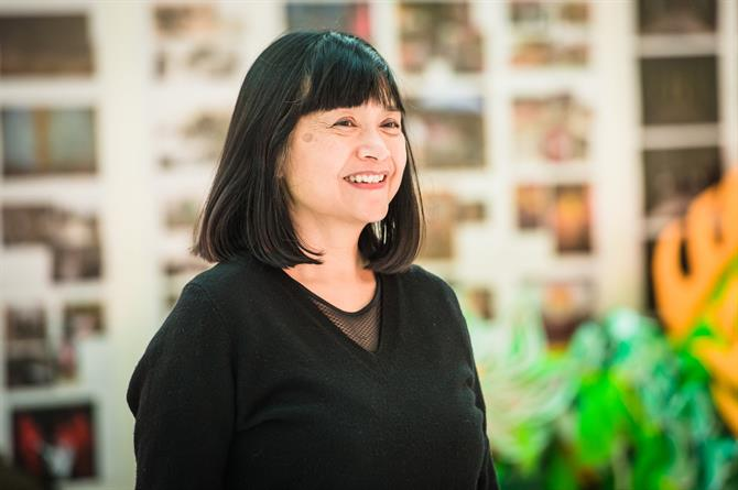 Sarah Lam smiling