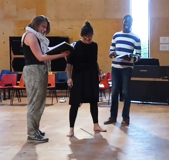 Measure for Measure rehearsals