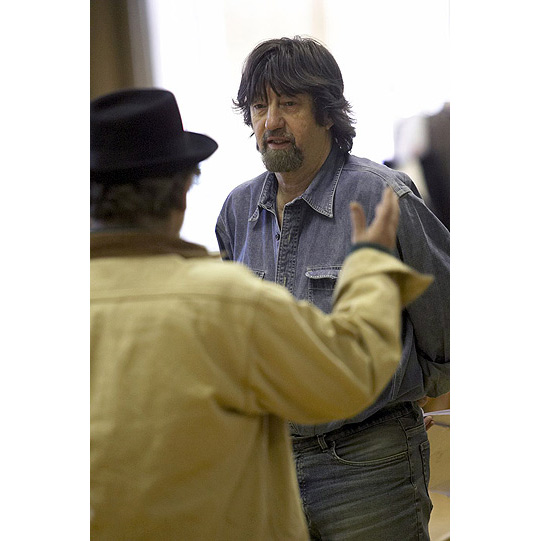 Director Trevor Nunn talks to Sylvester McCoy.