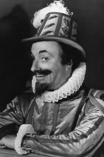 Roy Emerton as Parolles in the 1935 production.