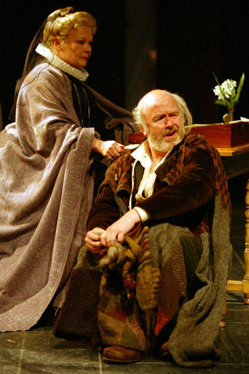 Countess Rossillion played by Judi Dench and Lavache played by Mark Lambert