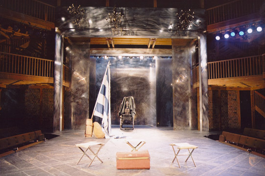 Set designed by Stephen Brimson Lewis.