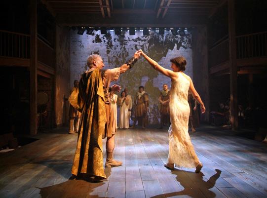 Antony and Cleopatra dancing